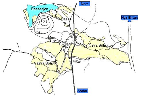 Karta över Lindefallet